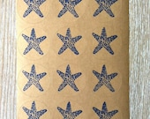 Starfish Envelope Stickers by Kiwi Tini Creations