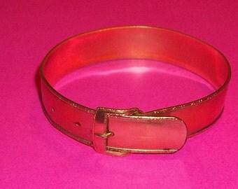Vintage Gold Filled Hayward Bracelet Buckle Victorian Style Marked Signed Estate Adjusts