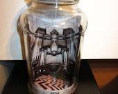 Pipe Organ Cathedral Decorative Glass Jar