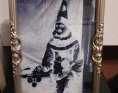 The Spire Vigil Clown framed