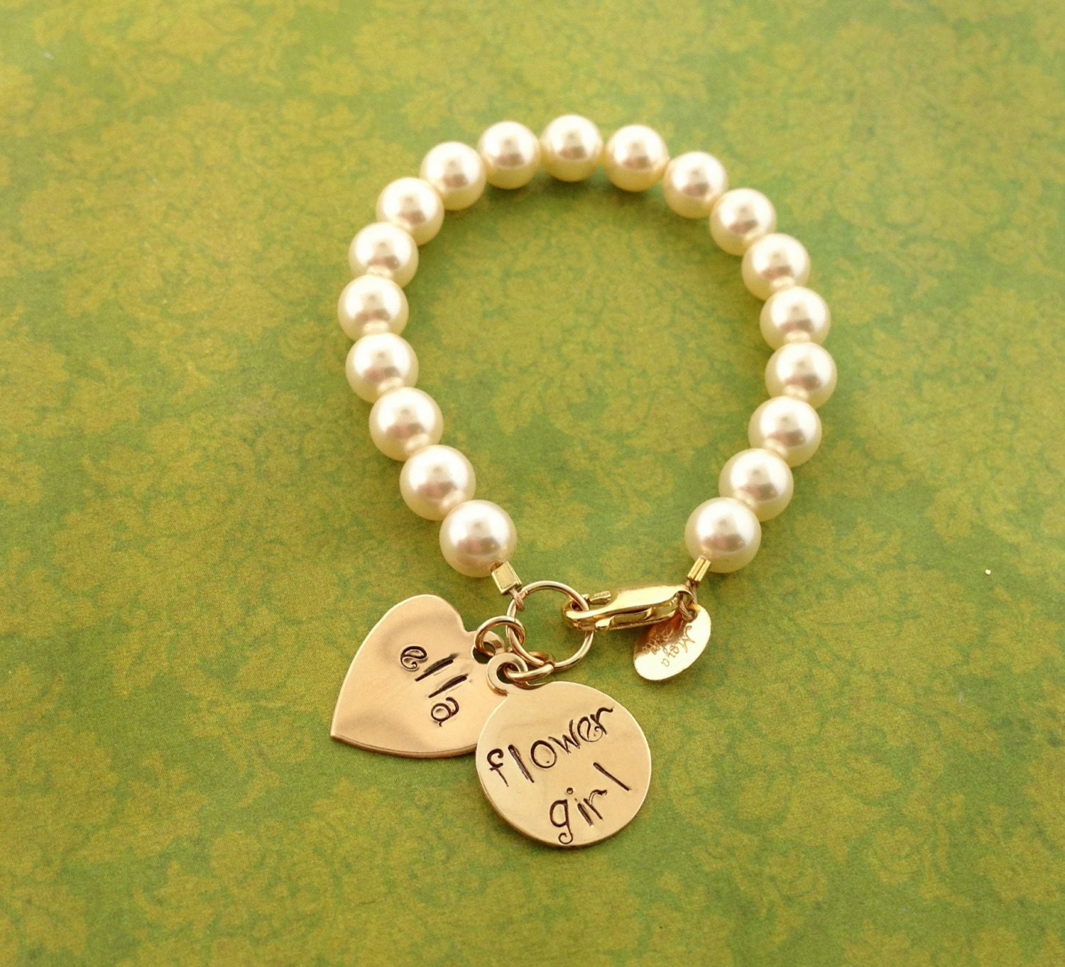 Wedding Gift Jewelry : Flower girl bracelet flower girl jewelry wedding gifts