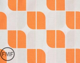 Half Yard Hipster Mirrah Leaf in Orange, Holli Zollinger, Riley Blake Designs, 100% Cotton Fabric, C520-03