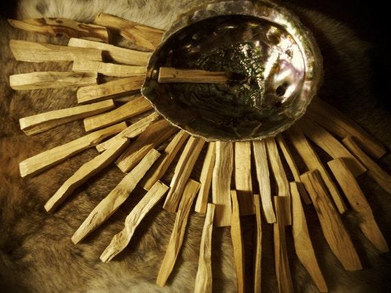 Palo Santo-  4 oz or 114 grams- Natural Incense- Smudging Herb- Healing Wood