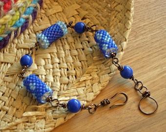 Bracelet, Beaded Peyote Stitch