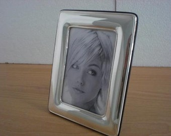 Handmade Sterling Silver Photo Picture Frame 1017 9x13 GB new