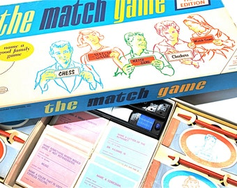 The Match Game by Milton Bradley 3rd Edition