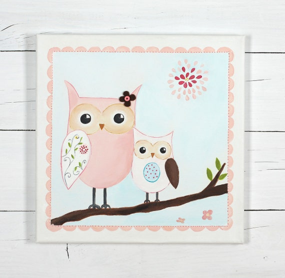 Items similar to two owls owl baby shower decoration for Baby shower function decoration