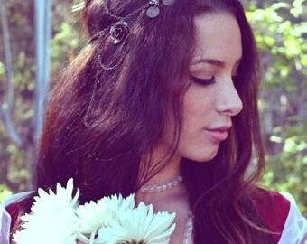 Custom Wedding Hair Chain