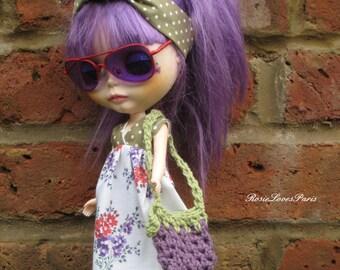 Blythe Summer Maxi dress and Headband.   BD50913)