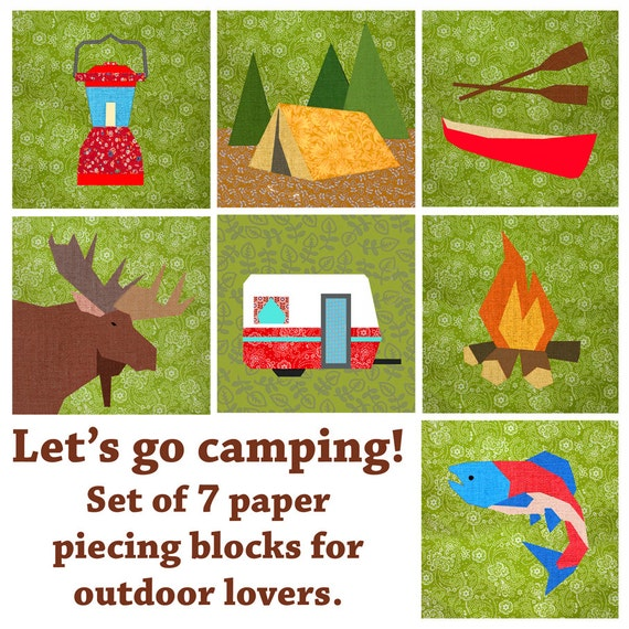 Camping Themed Quilt Patterns