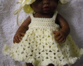 Crochet pattern for Berenguer 9.5 inch mini la newborn baby doll