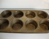 Vintage  Muffin Tin, Ovenex Muffin Tins, Cupcake Tins, Craft Organizer