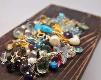 ADD ON Precious Gemstone/ Precious Gemstone Add On/ Customize Your Gemstone Neckace
