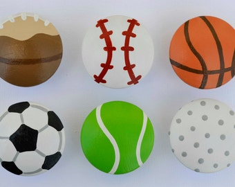 Sports Knobs, Dresser Drawer Knobs