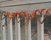 Fall  Wedding Garland, Vine Yard Wedding Decor, Hen Party  Leaves Garland,  Bridal Shower Decor, Country Cabin