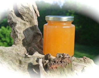 Unique Edible Gift, Natural Crystalized Raw Honey, Birthday Gift, Unique Jar NEW ITEM, Gift Wrapped