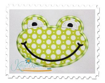 Frog Boy Applique