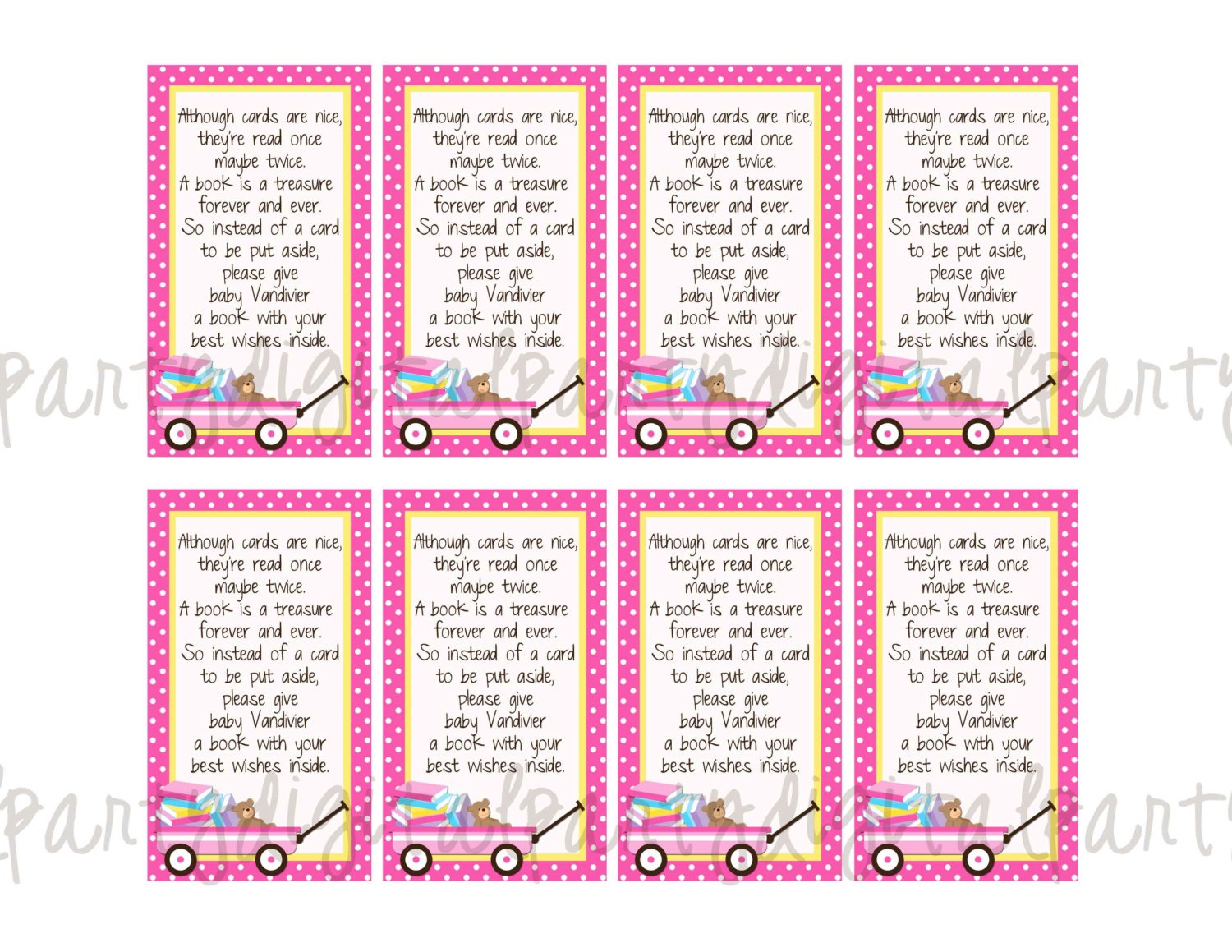 Bridal Shower Thank You Card Wording For Mother In Law : ... Card Poem Pink Or Blue.Bridal Shower Thank You Card To Mother In