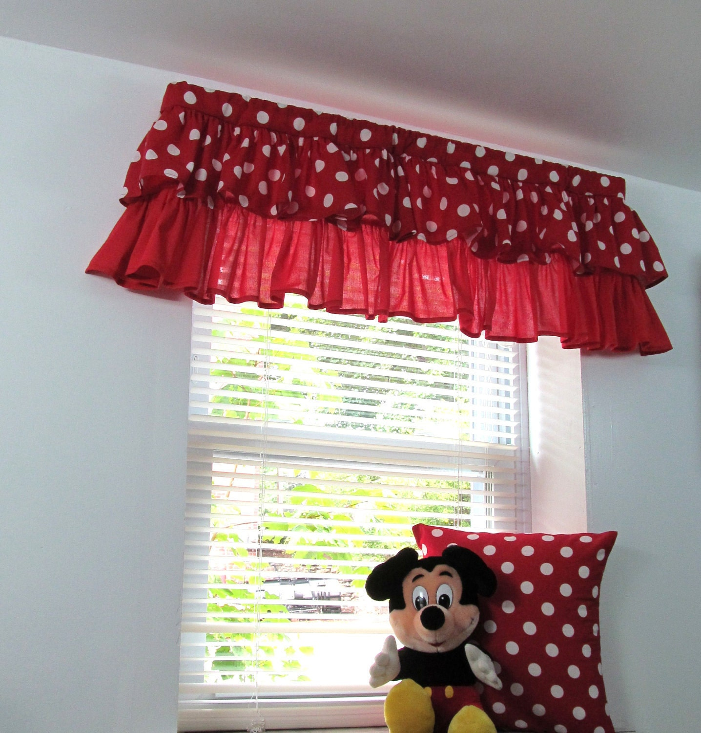 Pink and white polka dot curtains - Polka Dot Window Curtains Kids Zoom
