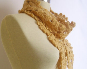 Sale brown scarf shawl handmade gift mother
