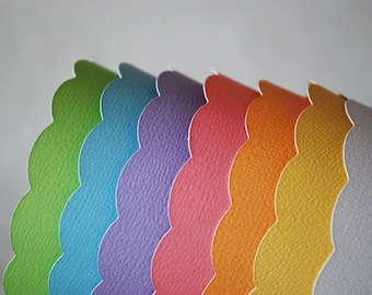 Pastel Rainbow Cupcake Wrappers In Your Choice of Color Qty 12 By Your Little Cupcake