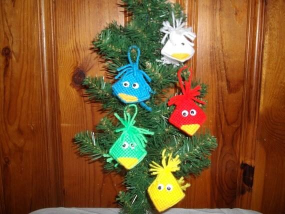 Kissme Birdie Ornaments Set of 5