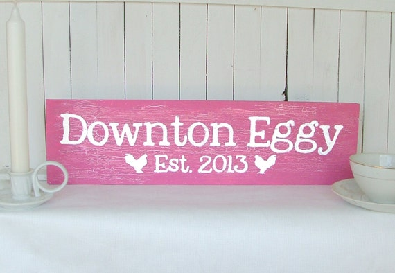 Your Own Custom Sign: Personalized Farm, Chicken Coop, Eggs, Etc.