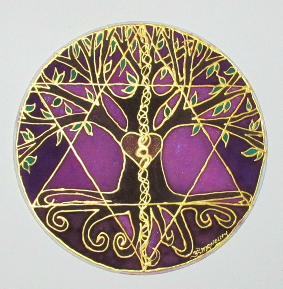 Mandala art Tree of Balance Made to Order by ...