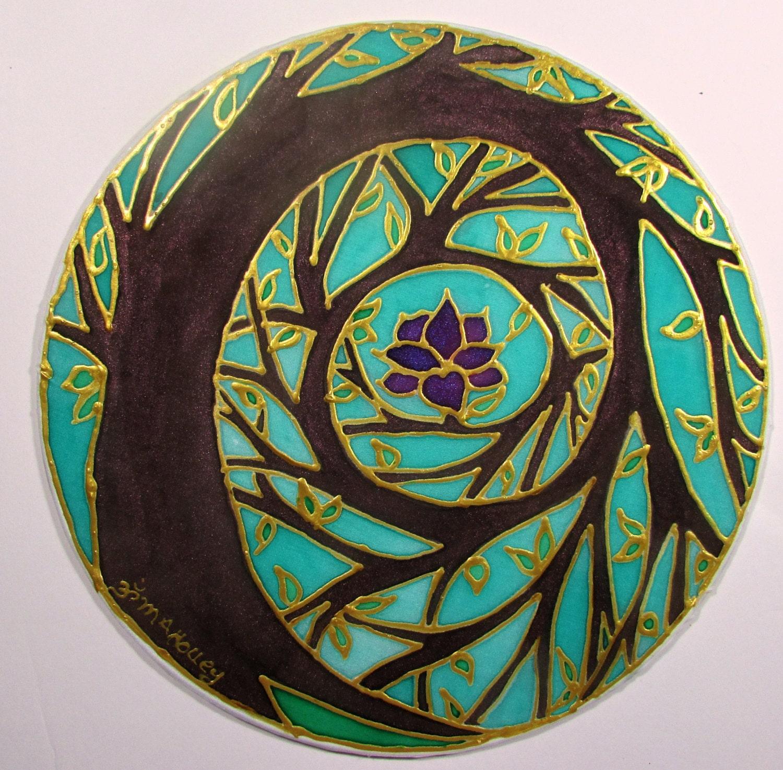 Mandala painting | Etsy