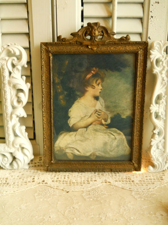 Antique 1800 S 1900 Victorian Framed Print By