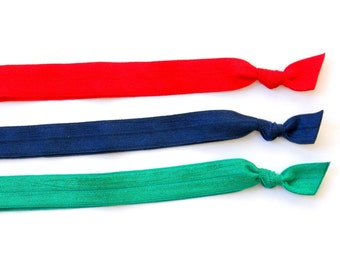 Bright - Set of 3 Comfort Elastic Headbands