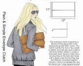 HP 1027 Handbag Heaven Plain & Simple Envelope Clutch