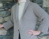 Kimono Cardigan to Knit PDF Pattern Instant Download