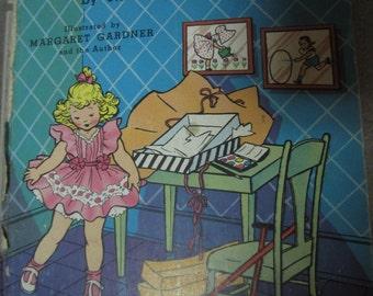Vintage THE PARTY Dress 1944 Ziff-Davis Naoma Zimmerman Children's book fairies kitschy cute