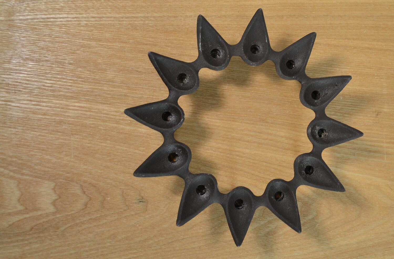 Mid Century Candle Holder DANSK Designs Denmark Starcluster