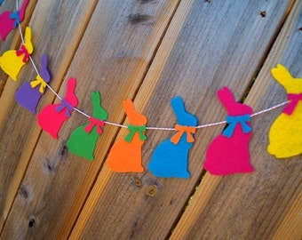 SALE Easter Bunny Garland Bunting