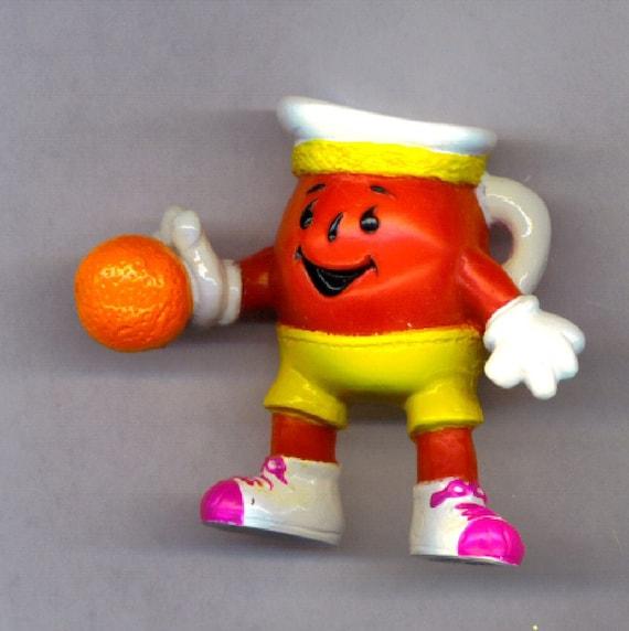1990 S Toys : Basketball koolaid man pvc figure toy s kraft