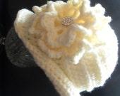 Instant download 326 1940s cloche  Hat Crochet pattern  baby girls toddler hat