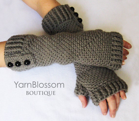 Fingerless Gloves CROCHET PATTERN PDF Instant Download women fingerless mittens arm wrist warmers winter gloves crochet texting gloves