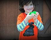 Chalkboard Easter bunny kids t-shirt