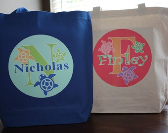 Summer Personalized Tote Bag