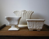 Vintage Ivory Pottery Collection
