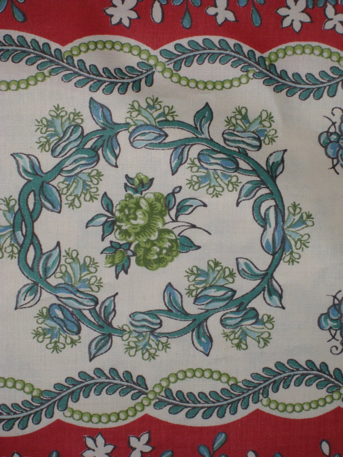 Vintage cotton chintz fabric vintage textiles vintage for Chintz fabric