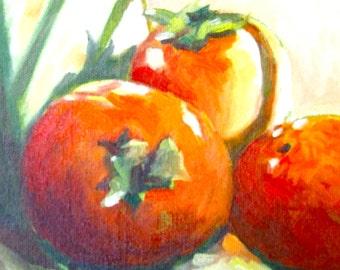 Tomato Painting • Oil Paintings • Original Art • Oil Painting • Daily Painter • Daily Painting • Tomatoes