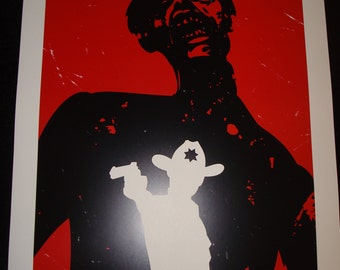 The Walking Dead  poster print