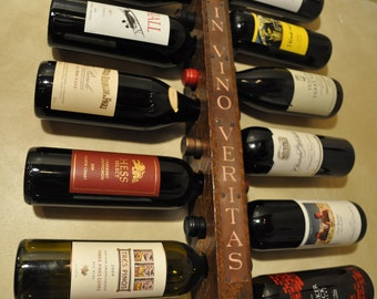 IN VINO VERITAS Wine Rack 12 Bottle High Capacity