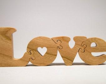 Valentine Love Wooden Puzzle