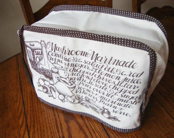 Toaster Cover Vintage