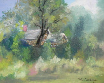 WillowWood Pastel Original Landscape
