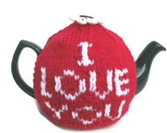 I love tea cozy I love you